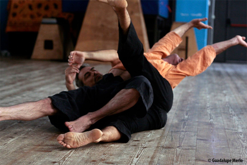 JAM SESSION di CONTACT IMPROVISATION con SIMONE MAGNANI