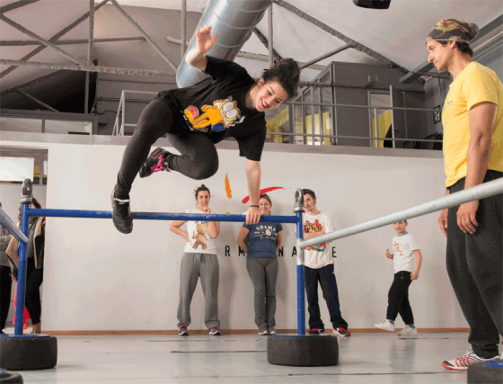 NUOVI CORSI ADD PARKOUR PER TEENAGERS