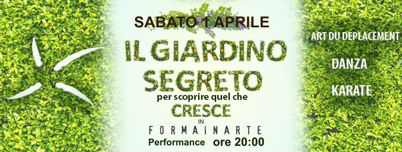 """""""Il GIARDINO SEGRETO"""" 1 Aprile 2017"""